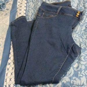 Fashion Nova High Waisted Skinny Jeans EUC